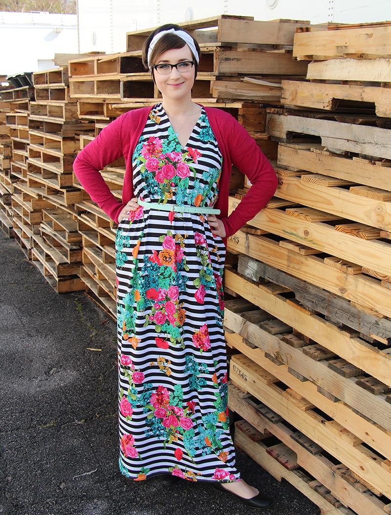 Modern Jersey maxi dress